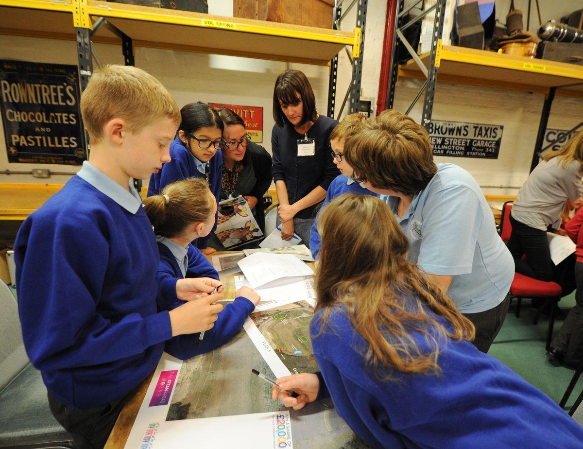 Apley Wood Primary School pupils