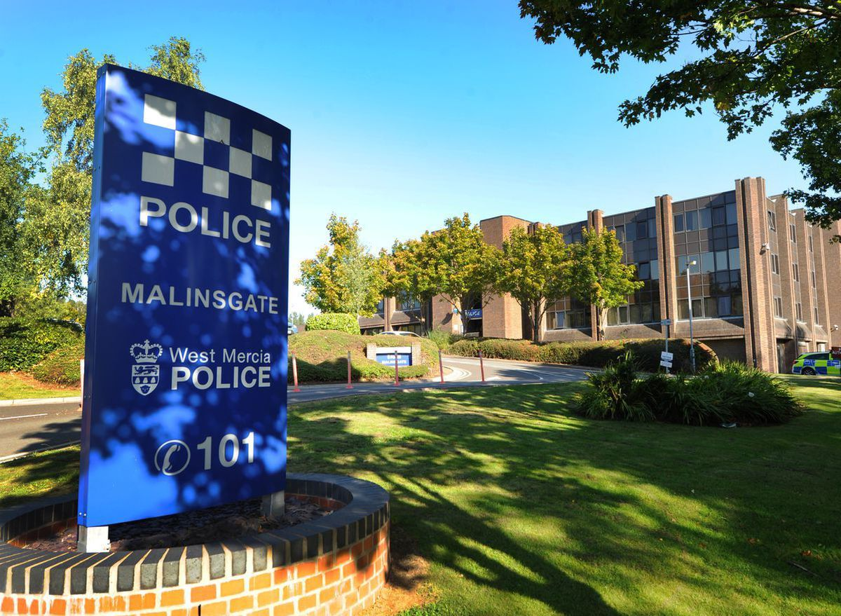 Malinsgate Police Station in Telford is among the stations affected by the plans