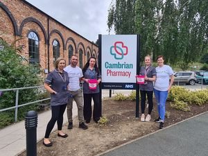 Cambrian Pharmacy in Oswestry has 15 members of staff taking part in Oswestry's 10k for Hope House