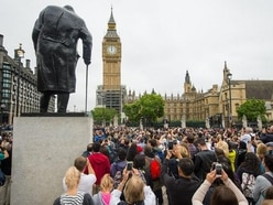 Throng out for swansong Big Ben bong after ban ding-dong