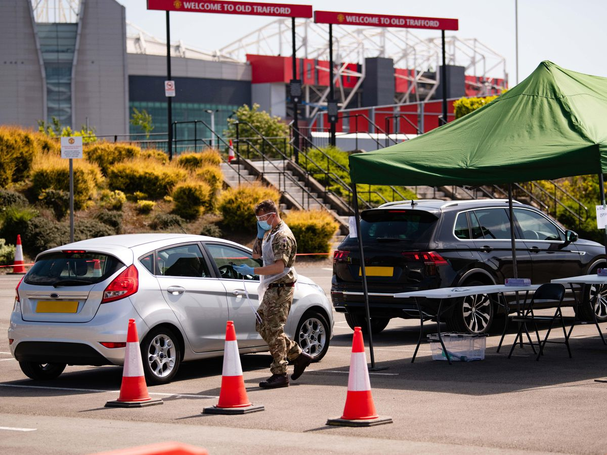 Old Trafford was used as a mobile testing facility in May, and Premier League clubs are understood to also be willing to assist with the rollout of a vaccine
