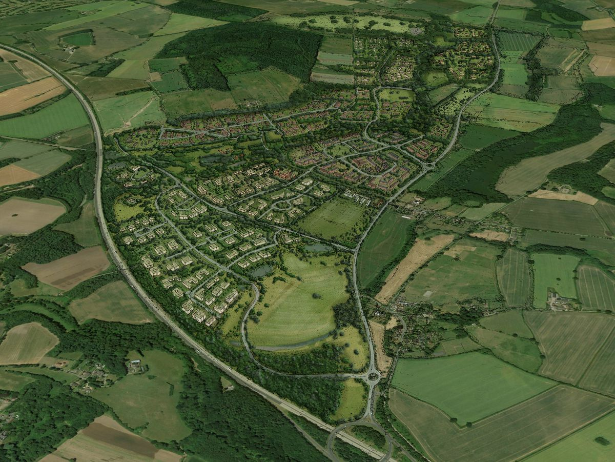 A sketch of what the development in Tong could look like