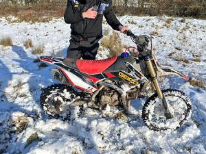 The bike was seized after being driven around Ketley and Overdale. Photo: West Mercia Police