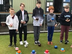 Young bowlers joy at sport grant