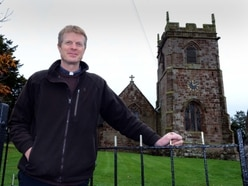 Telford vicar tackles 50 mile challenge – and gets back in time for baptism