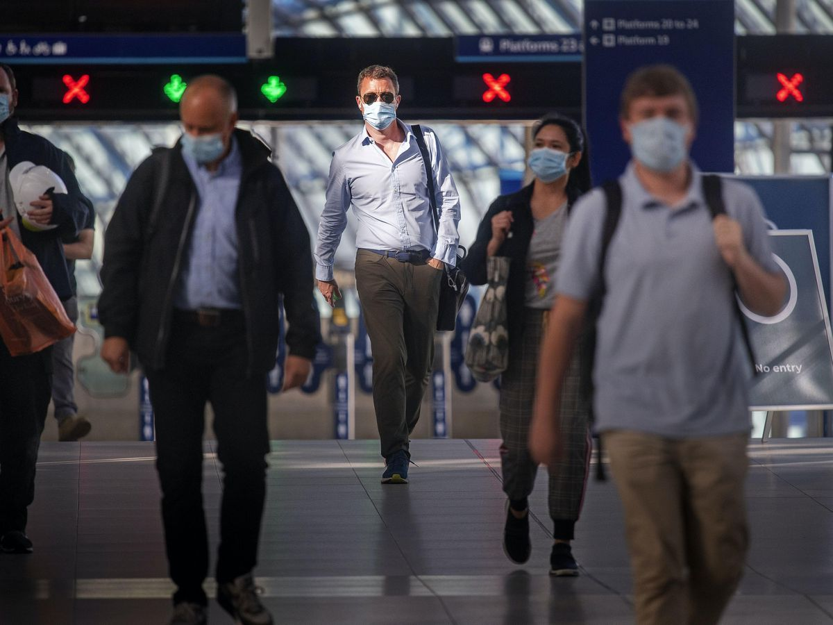 Thousands of train passengers complained about ticketing and refunds following the coronavirus outbreak, new figures show (Victoria Jones/PA)