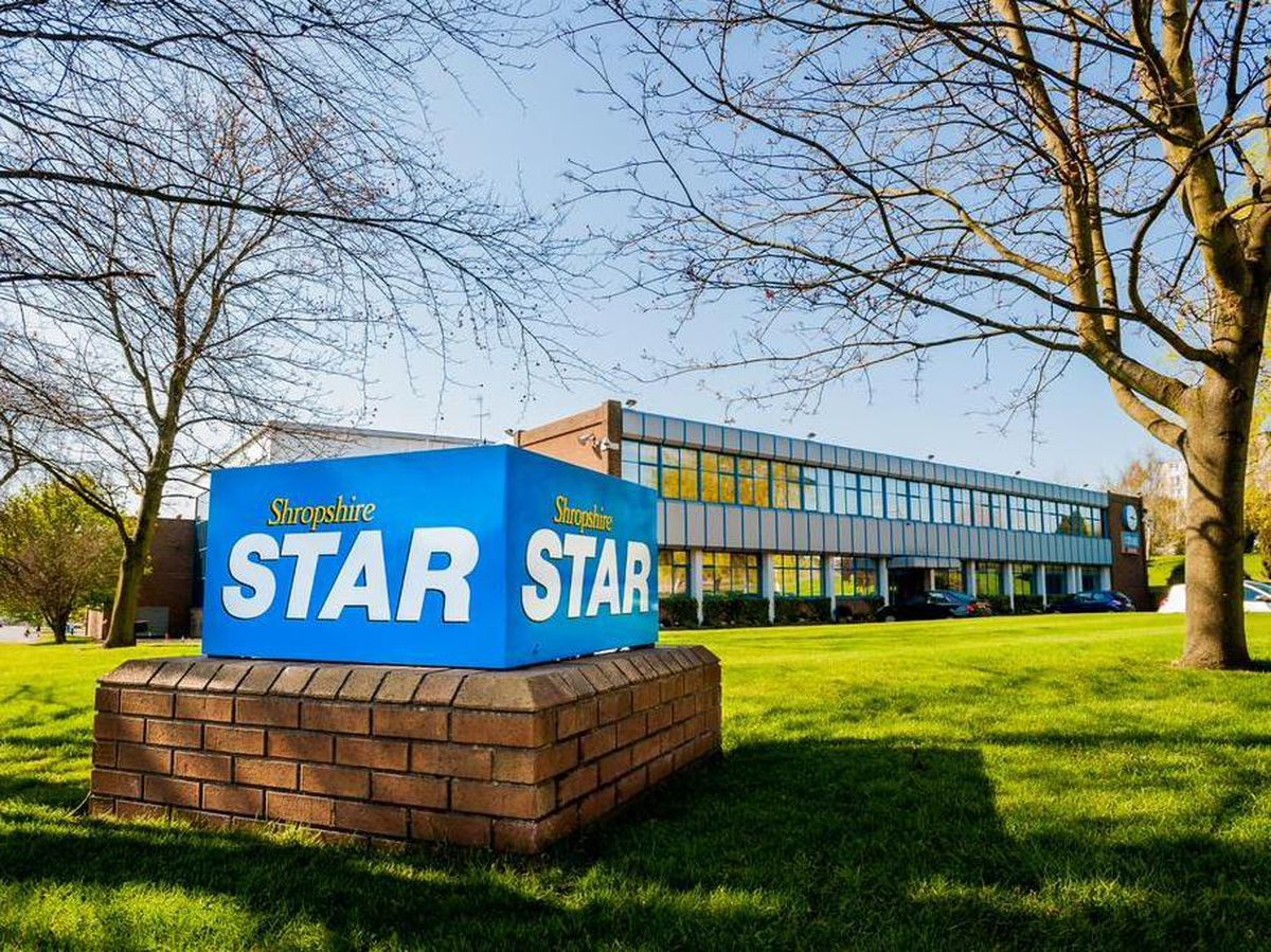The Shropshire Star's Ketley headquarters