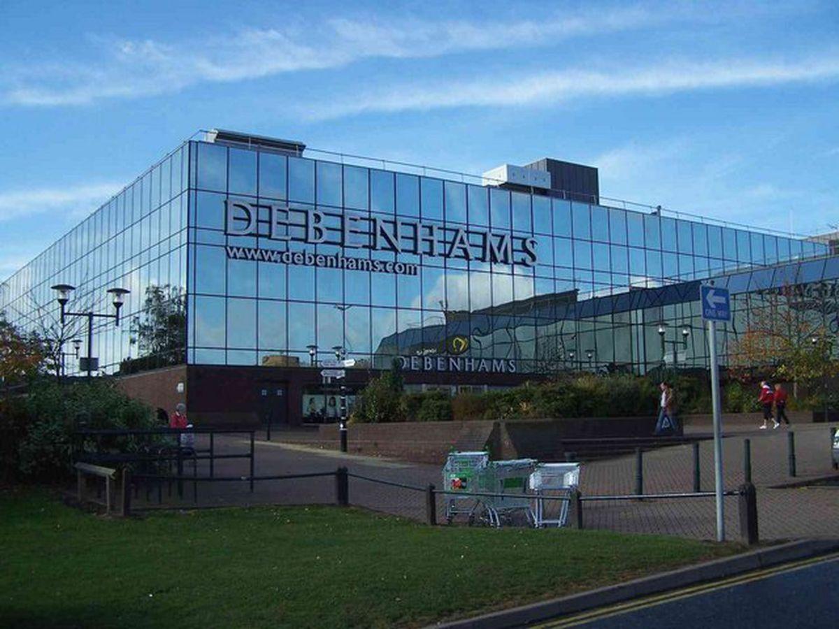 Debenhams has closed its Telford store