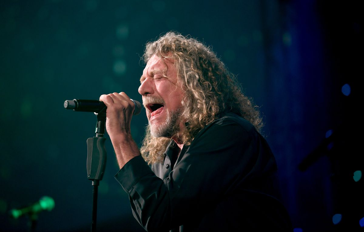 Robert Plant in live action