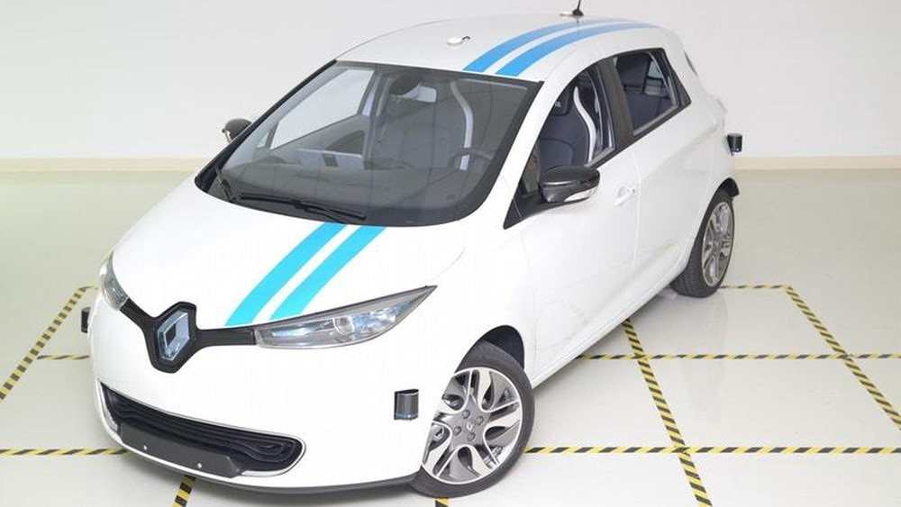 New Renault self-driving auto can avoid obstacles like a 'pro'