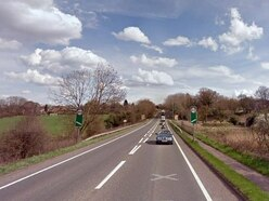 Campaigner's fears on 'dangerous' footpath alongside A41 at Tern Hill