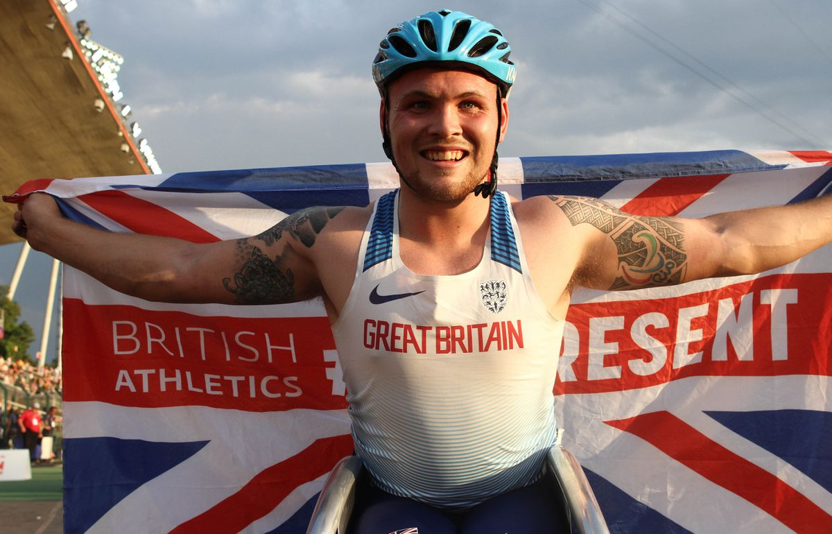 Ben Rowlings at the World Para Athletics European Championships in Berlin, Germany. (Ben Booth Photography.)
