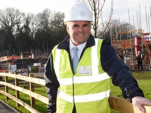 Kirk Raine, senior project manager at The Grove at Doseley Park in Telford