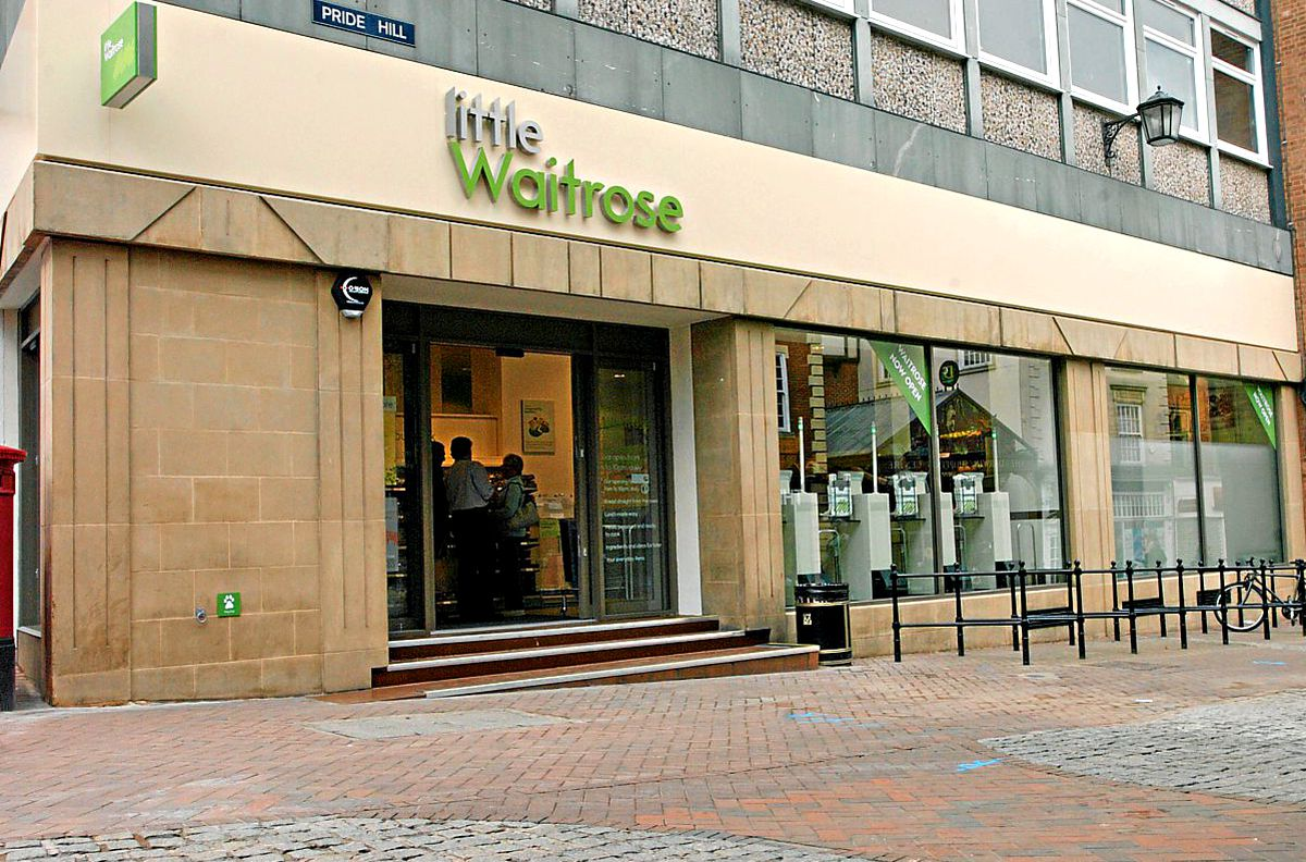 Waitrose on Pride Hill is to close