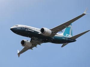 A Boeing 737 Max (Andrew Matthews/PA)
