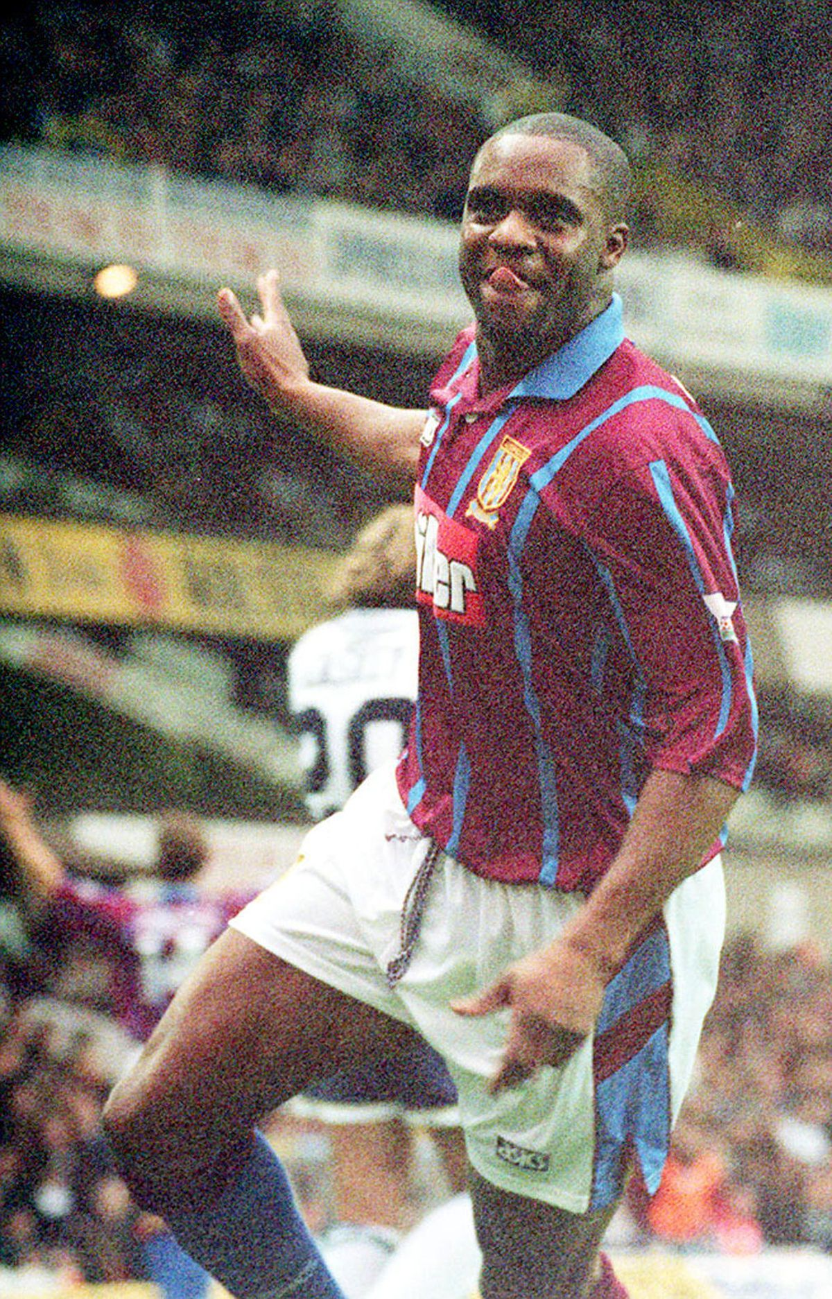 Dalian Atkinson is best known for his time at Aston Villa. Photo: Sean Dempsey/PA Wire.