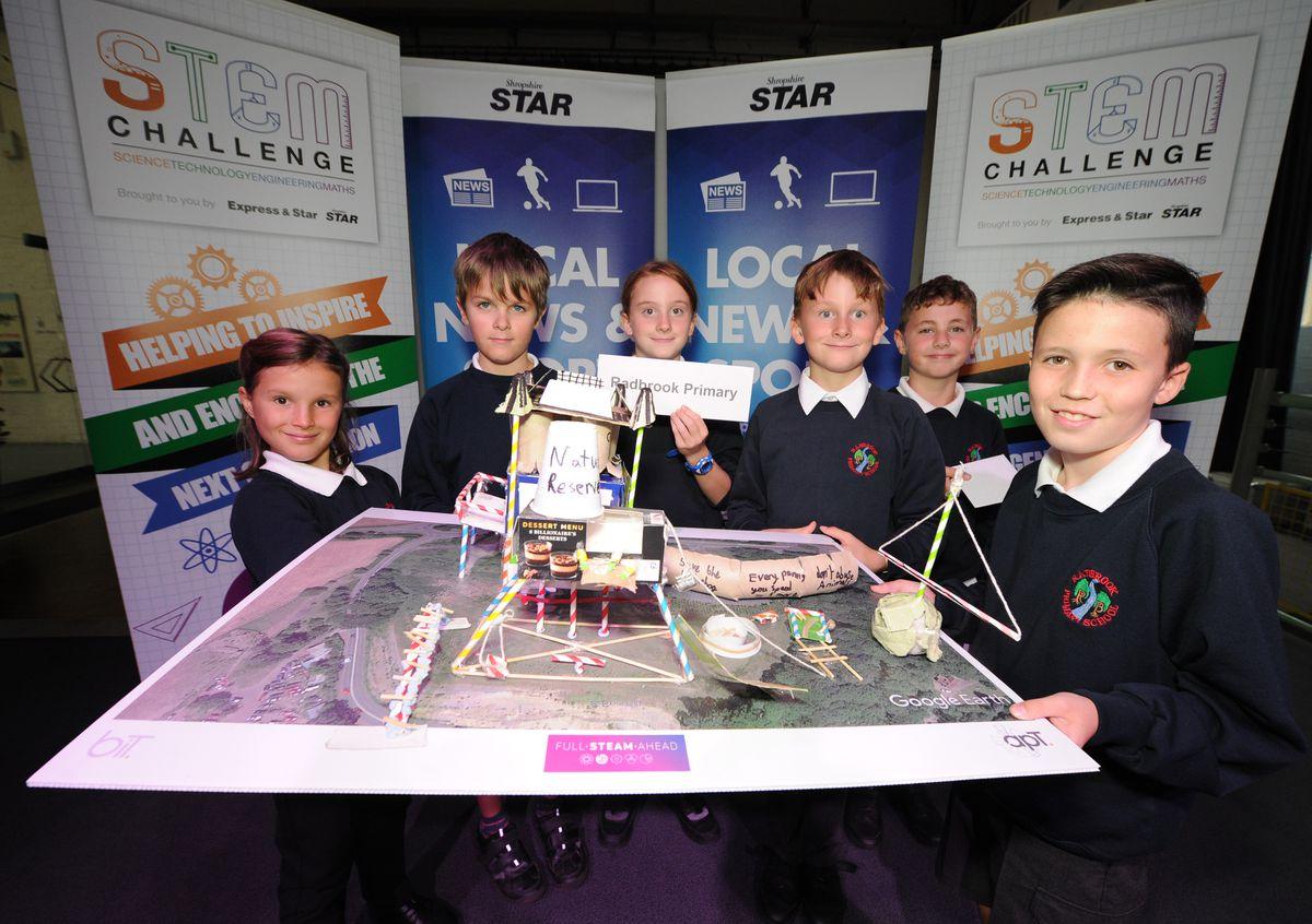 Best teamwork winners – Pupils from Radbrook Primary School