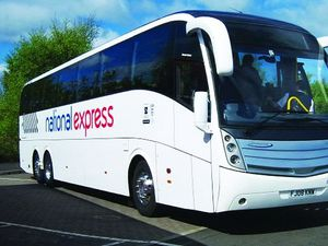 National Express coaches serving Shropshire routes return