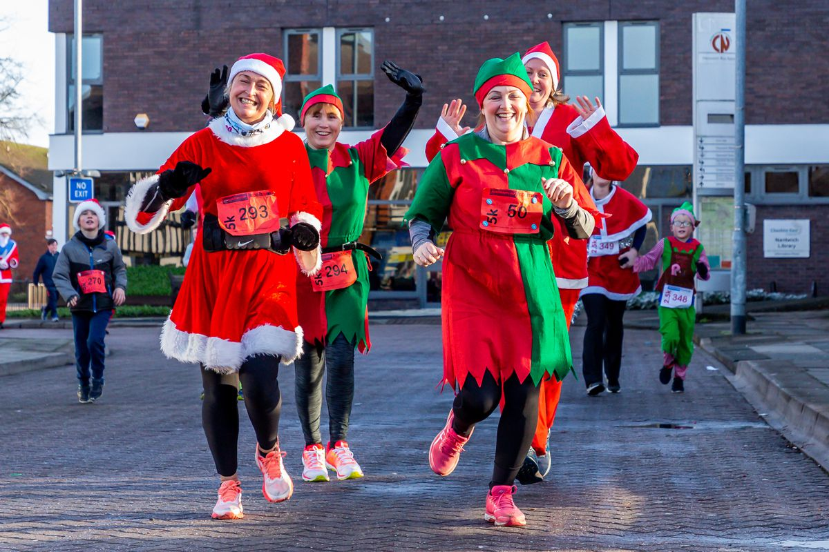 It will be a different sort of Santa Dash this year