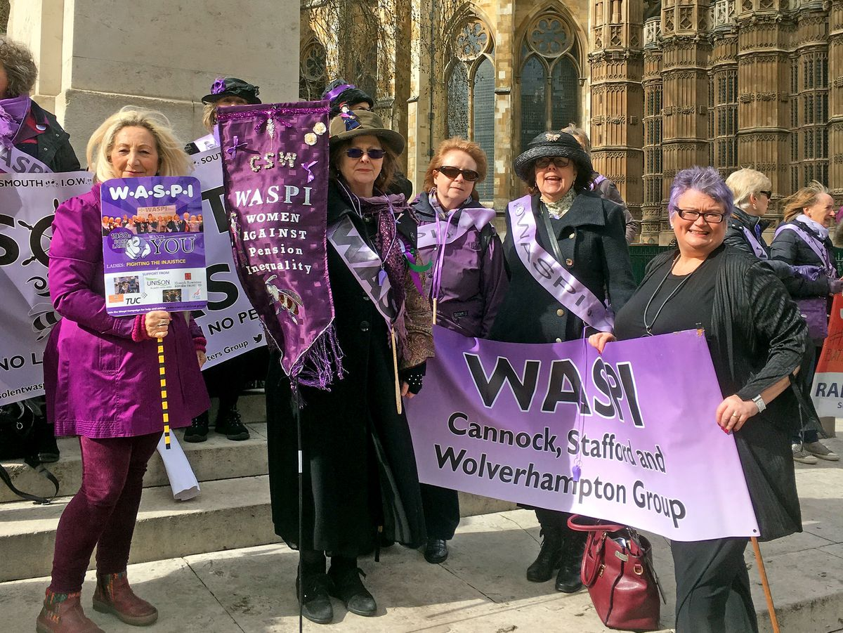 Waspi women took the campaign to London earlier this year