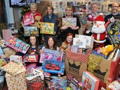 Toys start to come in for Christmas Appeal