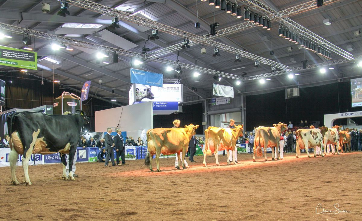 Telford International Centre will once again be transformed to host UK Dairy Day on September 15 this year