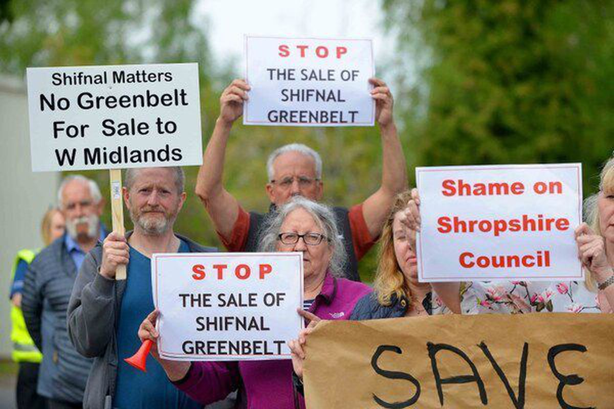 Campaigners have been battling against plans for development of Shifnal since the local plan was revealed