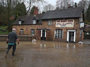 The Boat Inn, in Jackfield, near Ironbridge