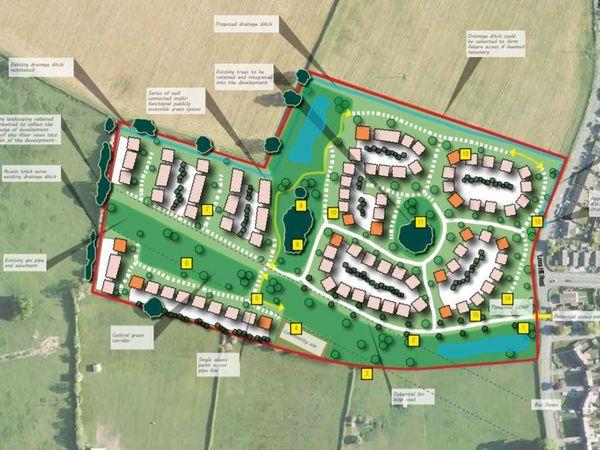 Plans for the Wem development