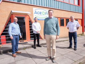 Mark Thompson, Alex Thompson and Richard Partington welcome Philip Dunne to AceOn