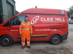Dylan Hadwen, Clee Hill Plant Ltd apprentice