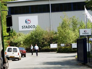 Stadco in Llanfyllin were there was a report of a fire. (WOULD NOT LET ME ON SITE)