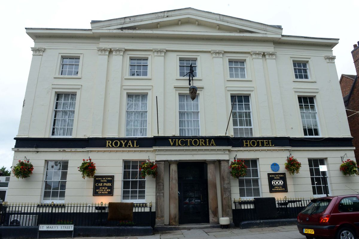 The Royal Victoria Hotel in Newport