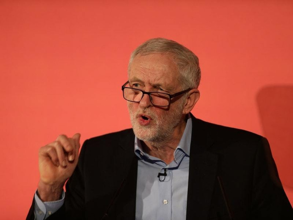 UK Labour leader Corbyn calls for 'radical' shift in economy, including nationalization