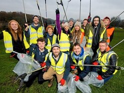 Litter pickin' good as Shrewsbury firm helps raise £1,000 for charity