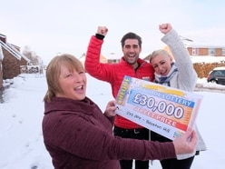 Shrewsbury's Ann hits jackpot with £30,000 lottery win