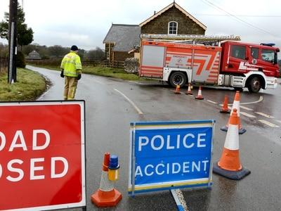 Man missing after fire destroys Shropshire house