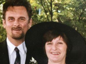 Katie's parents, John and Susan Docherty.