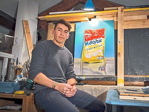 Brickie Callum aims to build new life as an artist