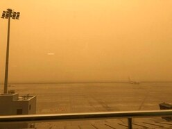 Britons returning from sandstorm-hit Tenerife diverted to Malaga without baggage