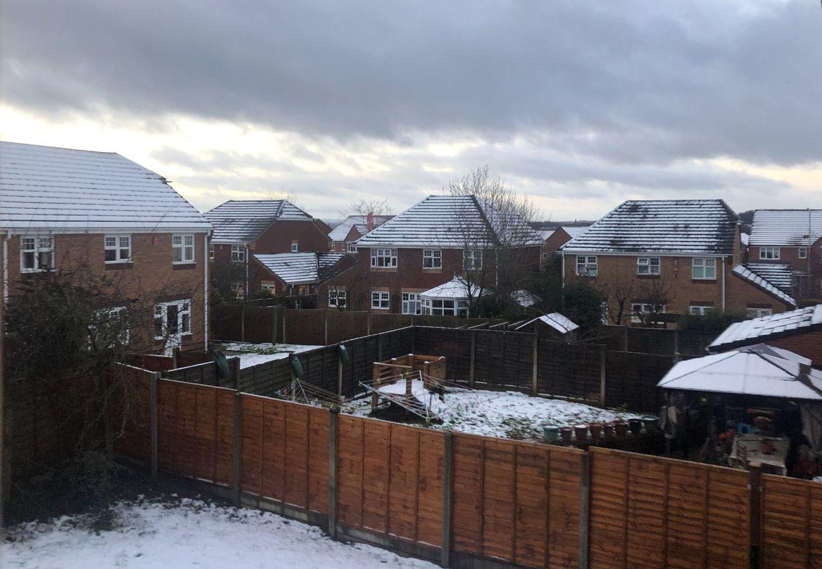 Snow in Telford
