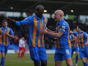 Marvin Morgan with his former team-mate Matt Richards, who he remains very close with to this day