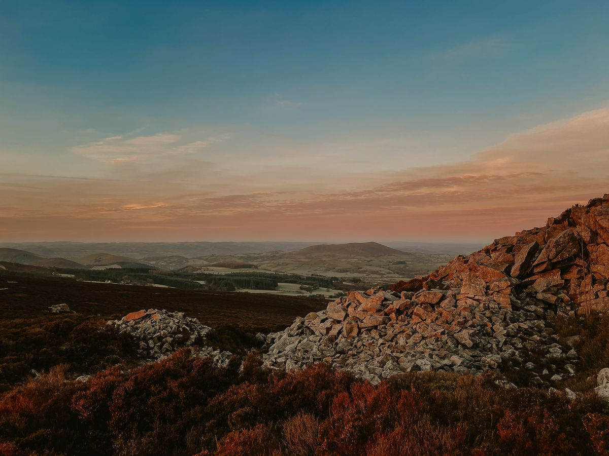 A view from the Stiperstones