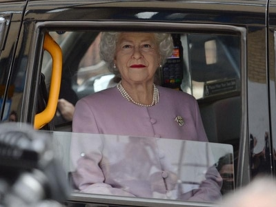 In Video: 'Queen' gets taxi to hospital for new great-grandchild's arrival