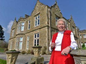 Dame Stephanie Shirley, visiting her former boarding house Oakhurst in 2015