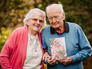 Vera Roberts and Glyn Roberts from Ellesmere are celebrating their 65th wedding anniversary