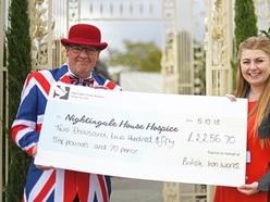 £2,000 raised for hospice at British Ironwork Centre proms event