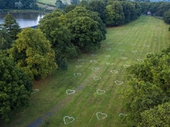 Heart art as painters show love for the great outdoors