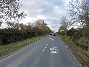 The A49 between the Church Road and Upper Lyde junctions. Pic: Google