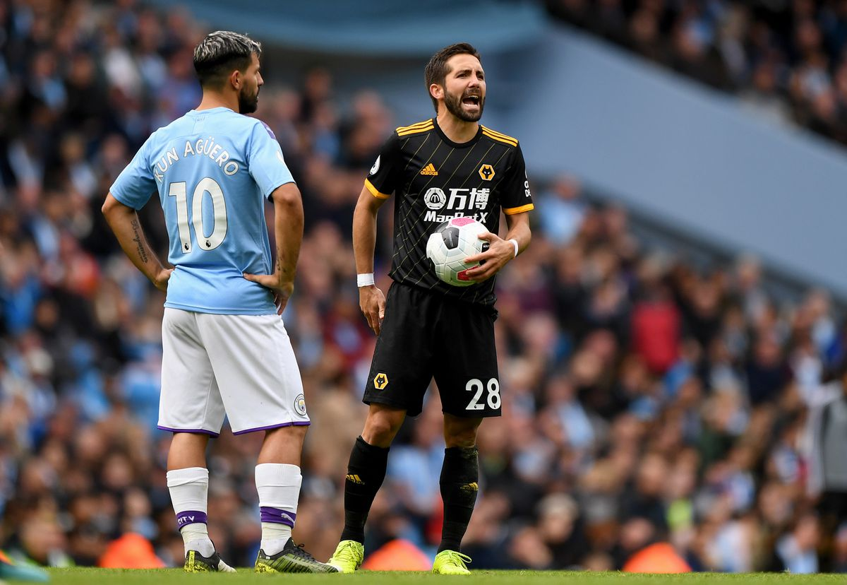 Sergio Aguero of Manchester City and Joao Moutinho (AMA)